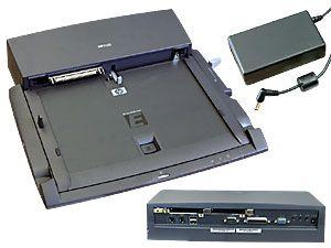 Docking-Station für HP-Omnibook mit Netzteil