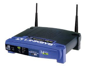 Wireless-G Access-Point LINKSYS WAP54G