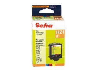 Geha-Tintenpatrone für HP (refill)