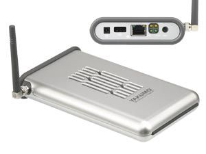 WLAN Festplattengehäuse YAKUMO Wireless Storage 60