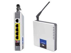 WLAN-Router mit Modem LINKSYS WAG200G-DE