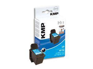 Tintenpatrone KMP, kompatibel für HP 56 (C6656AE), schwarz