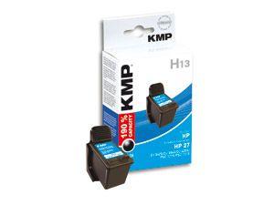 Tintenpatrone KMP, kompatibel für HP 27XL (C8727AE), schwarz