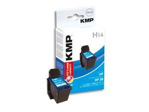 Tintenpatrone KMP, kompatibel für HP 28XL (C8728AE), 3-Color