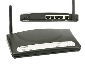 Wireless LAN Router, 54 Mbps