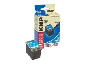 Tintenpatrone KMP, kompatibel für HP 338 (C8765E), schwarz