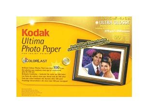 Fotopapier Kodak Ultima