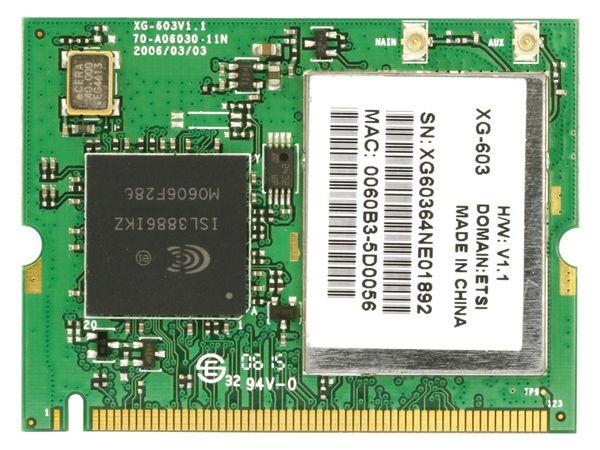WLAN miniPCI-Karte XG-603