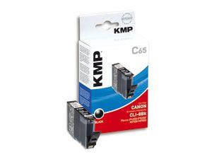 Tintenpatrone KMP, kompatibel für Canon CLI-8BK, schwarz