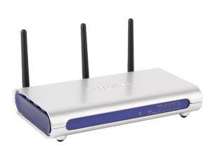 Wireless LAN Router mit MIMO-Technologie