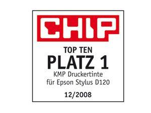 Tintenpatronen-Set KMP, kompatibel für Epson T0711, schwarz - Produktbild 2