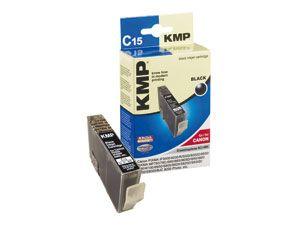 Tintenpatrone KMP, kompatibel für Canon BCI-6BK, schwarz