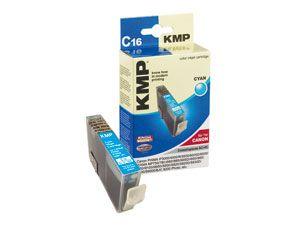 Tintenpatrone KMP, kompatibel für Canon BCI-6C, cyan