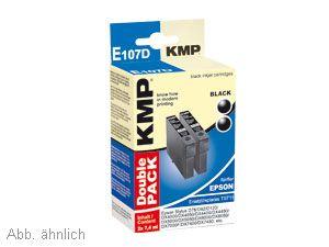 Tinten-Doppelpack KMP, für BROTHER LC-980BK
