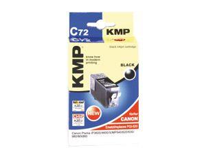 Tintenpatrone KMP, kompatibel für Canon PGI-520, schwarz