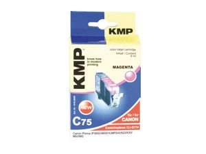 Tintenpatrone KMP, kompatibel für Canon CLI-521M, magenta
