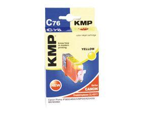 Tintenpatrone KMP, kompatibel für Canon CLI-521Y, gelb