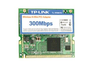 WLAN miniPCI-Karte TP-LINK WN861N, 300Mbps