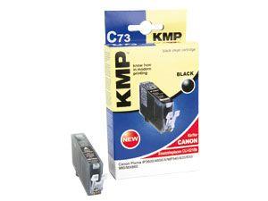 Tintenpatrone KMP, kompatibel für Canon CLI-521BK, schwarz