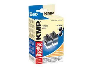 Tinten-Doppelpack KMP, für BROTHER LC-920BK,-41BK