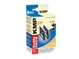 Tinten-Doppelpack KMP, für BROTHER LC-1000BK