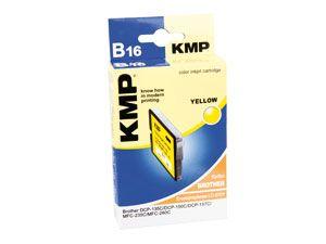 Tintenpatrone KMP, kompatibel zu Brother