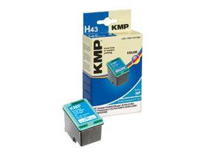 Tintenpatrone KMP, kompatibel für HP 351XL (CB338EE), 3-Color