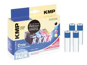 Tinten-Vorteils-Set KMP/VARTA, für CANON