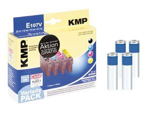 Tinten-Vorteils-Set KMP/VARTA für EPSON