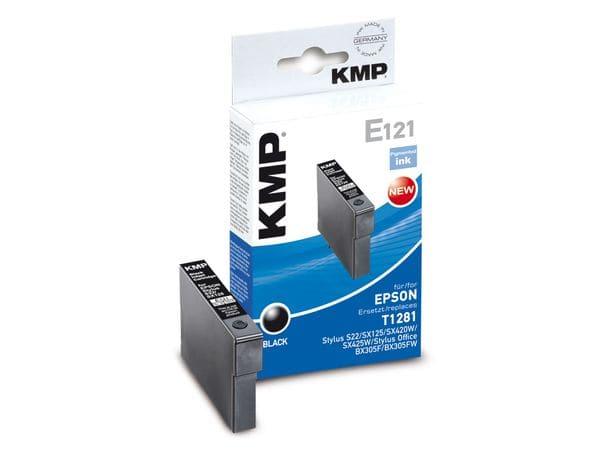 Tintenpatrone KMP, kompatibel für Epson T1281, schwarz