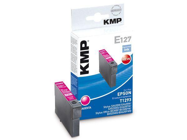 Tintenpatrone KMP, kompatibel zu EPSON T1293, magenta