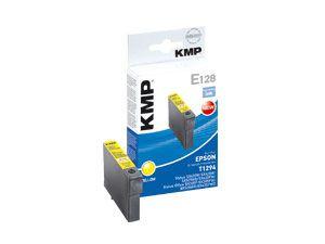 Tintenpatrone KMP, kompatibel für Epson T1294, gelb