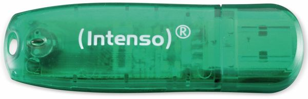 USB-Speicherstick INTENSO Rainbow Line, 8 GB - Produktbild 1