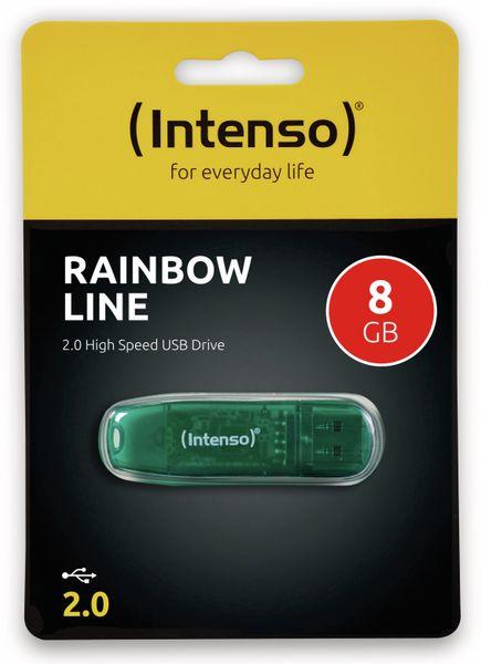 USB-Speicherstick INTENSO Rainbow Line, 8 GB - Produktbild 2