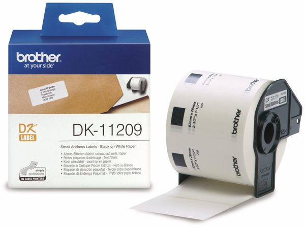 Adress-Etiketten BROTHER DK-11209