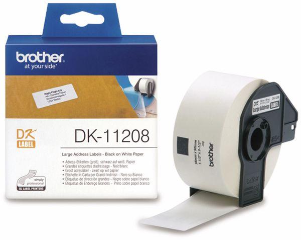 Adress-Etiketten BROTHER DK-11208