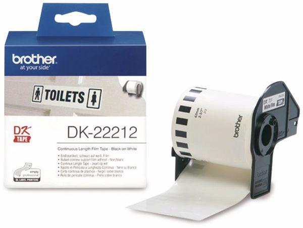 Endlos-Etikett BROTHER DK-22212