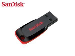 USB 2.0 Speicherstick SanDisk Cruzer Blade, 4GB - Produktbild 1