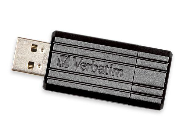 USB-Speicherstick VERBATIM PinStripe, 16GB - Produktbild 1