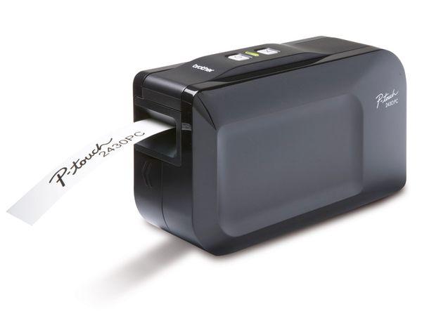 Etikettendrucker BROTHER P-touch 2430PC Black Edition - Produktbild 1