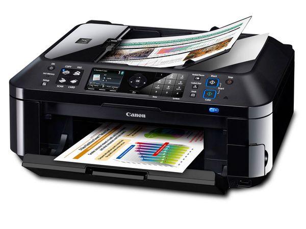 Multifunktionsgerät mit Fax und WLAN CANON PIXMA MX420 - Produktbild 1