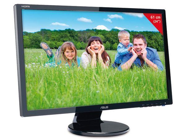 """61 cm (24"""") TFT-Bildschirm ASUS VE248H - Produktbild 1"""