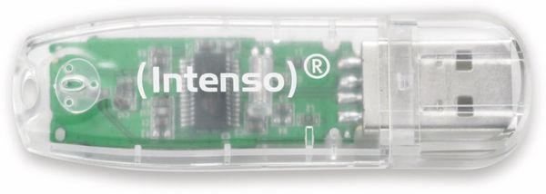 USB-Speicherstick INTENSO Rainbow Line, 32 GB
