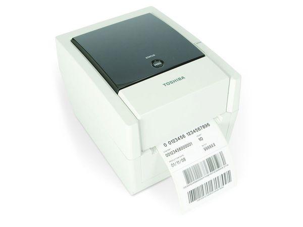 Etikettendrucker TOSHIBA B-EV4T-GS14-QM-R, mit Spendemodul