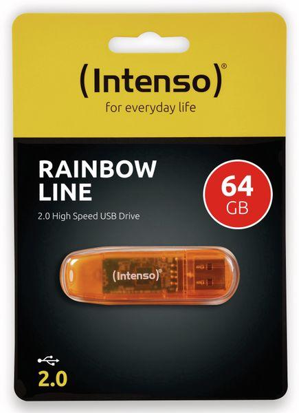 USB-Speicherstick INTENSO Rainbow Line, 64 GB - Produktbild 2