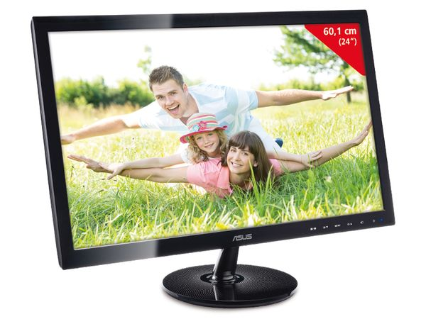 "60,1 cm (24"") TFT-Bildschirm ASUS VS248H - Produktbild 1"
