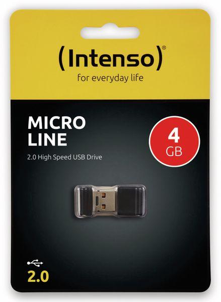 Nano-Speicherstick INTENSO Micro Line, 4 GB - Produktbild 2