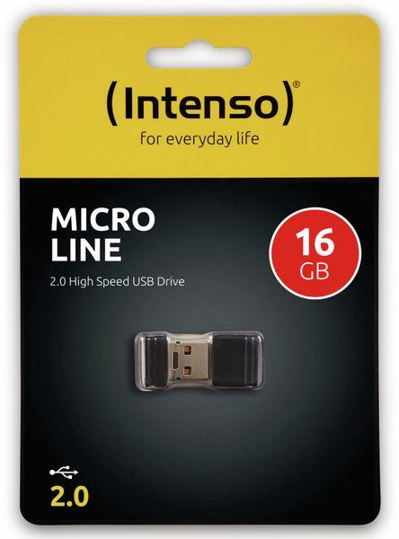 Nano-Speicherstick INTENSO Micro Line, 16 GB - Produktbild 2