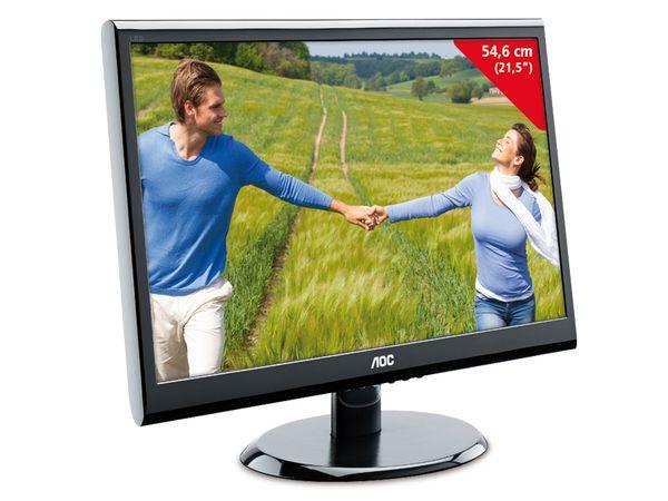 """54,6 cm (21,5"""") LED-Flachbildschirm AOC e2250SWDAK - Produktbild 1"""