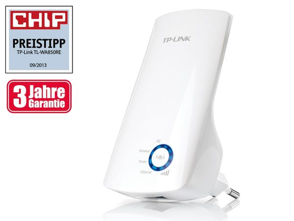 Universal WLAN-Repeater TP-LINK TL-WA850RE, 300 Mbps - Produktbild 1